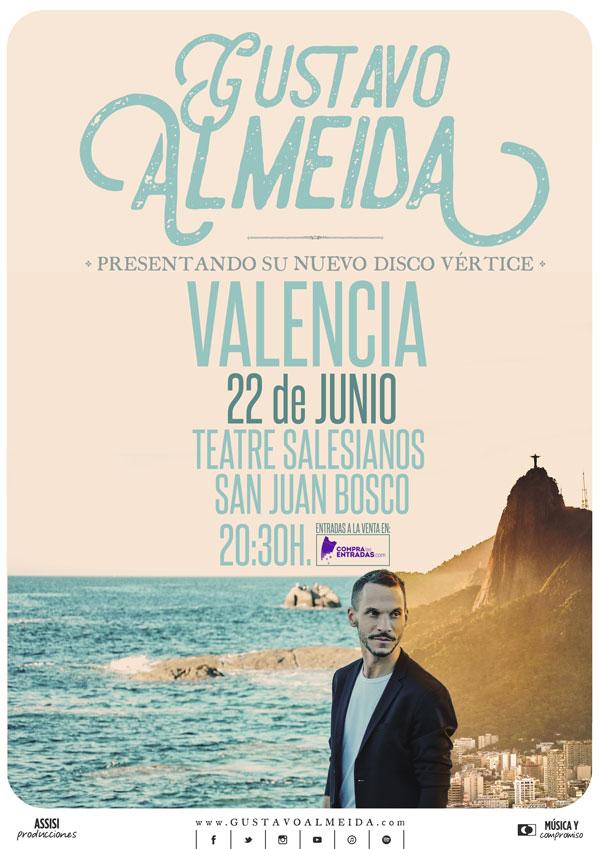 concierto valencia gustavo almeida, teatro salesianos San Juan Bosco 22 junio 2019